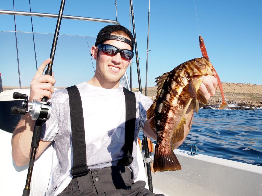Do what you feel radio silence fishing for Calico bass fishing