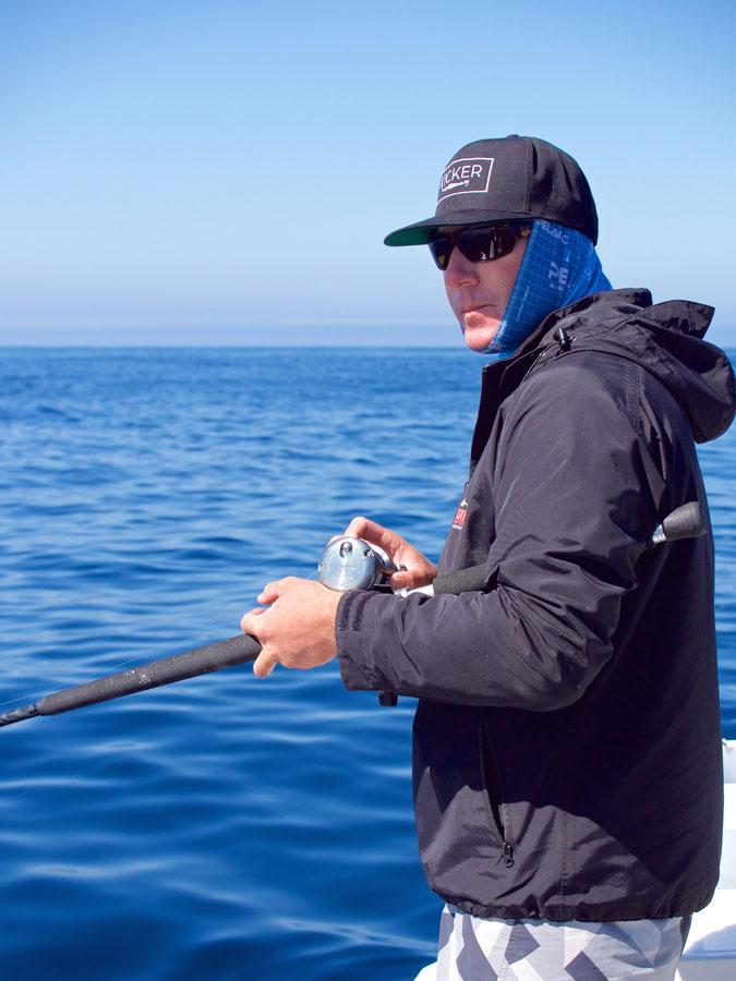 Capt. Nick Tharp - focused on the mission.