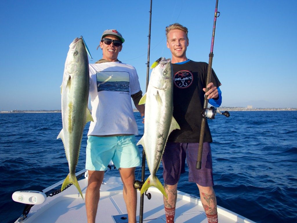 Integrating youthful energy with aged passion.  Note - both of these fish were released.