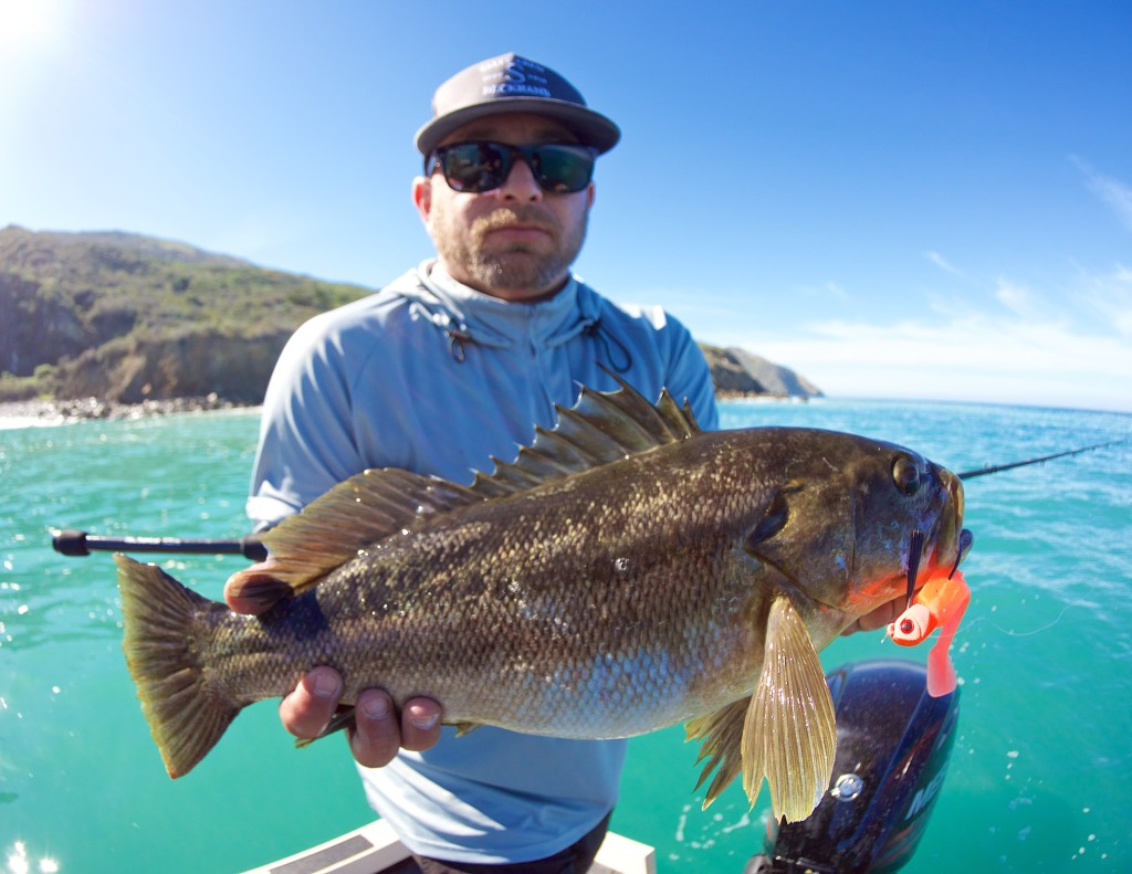 As an act of protest to his sometimes abused moniker, Ceez went on a 'Big Bass Specialist' style assault on some very grumpy calico bass that did not lack a fighting spirit.